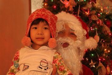 Linh Lan cùng ông già Noel